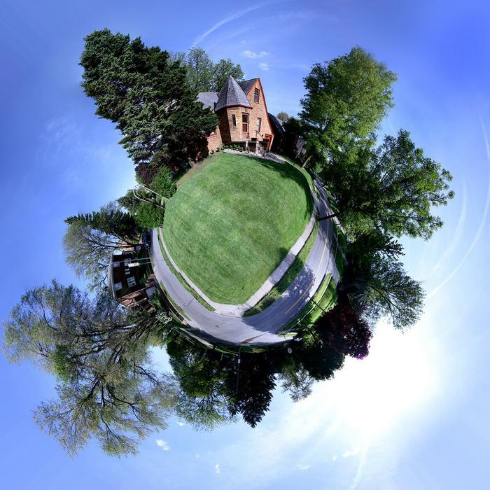 Круговая панорама Земли