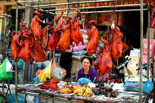 вииисссяяят уткиии, кухня Камбоджи фото