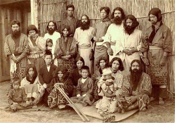 Айны, коренное население Курил