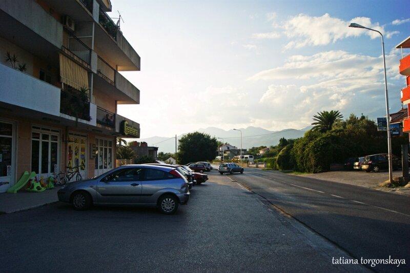 Дорога от аэропорта к автобусной станции