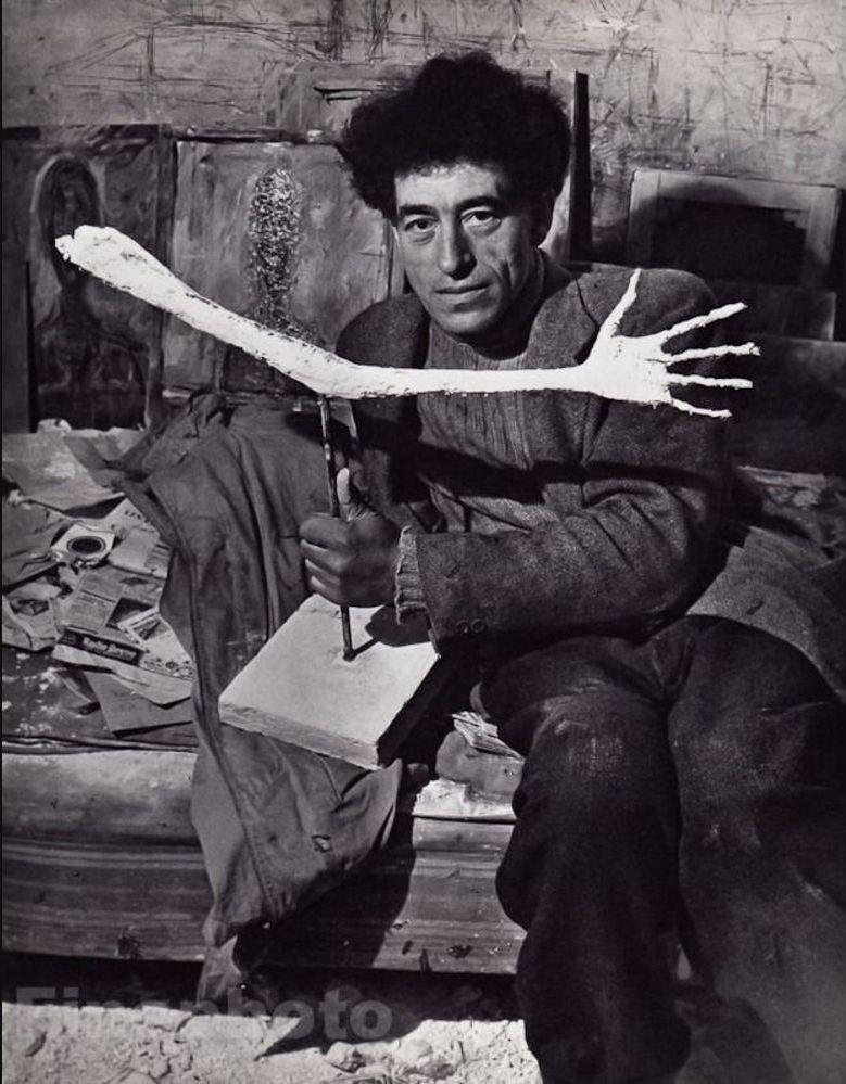 1934. Альберто Джакометти