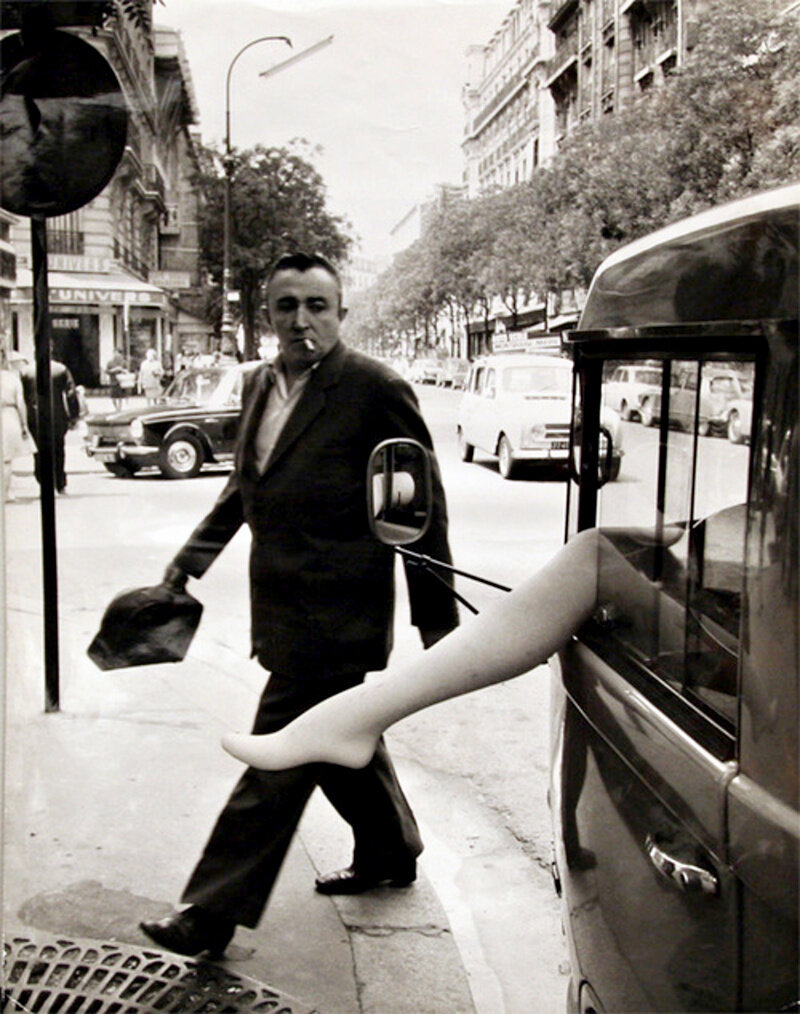 1968. Нога. Улица Алесия