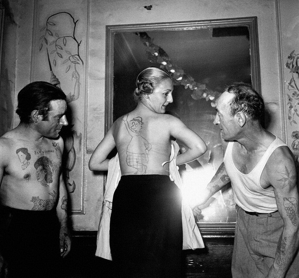 1950. Конкурс самых красивых тату, улица Муфтар