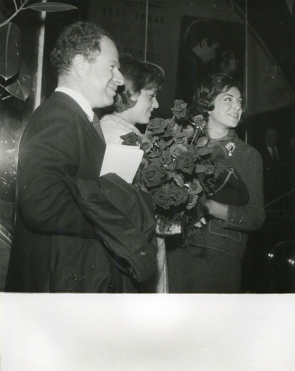 1960. Жанна Моро
