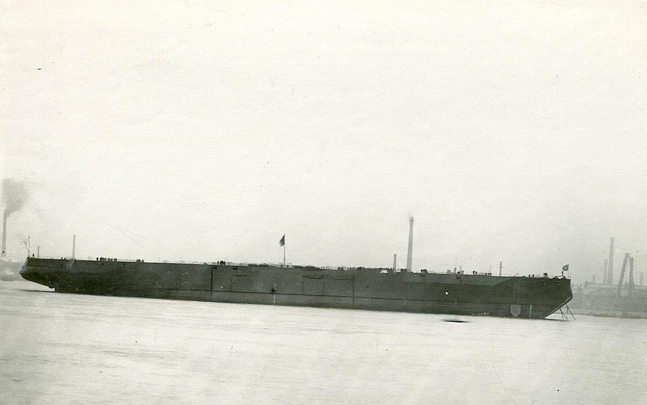 08. Линейный корабль «Петропавловск», спущенный на воду Балтийским заводом
