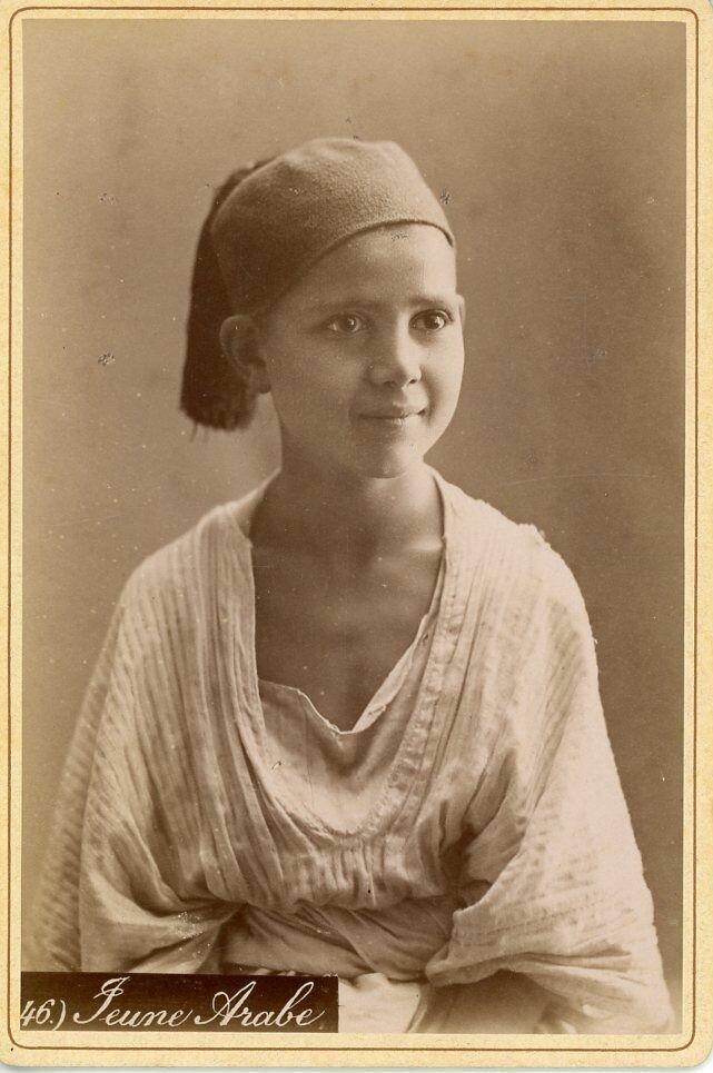 1880. Молодой араб