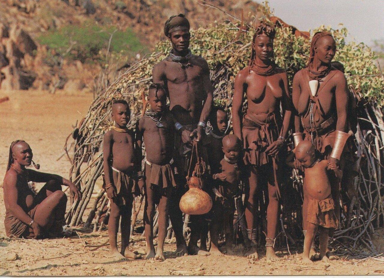 Намибия. Народность химба