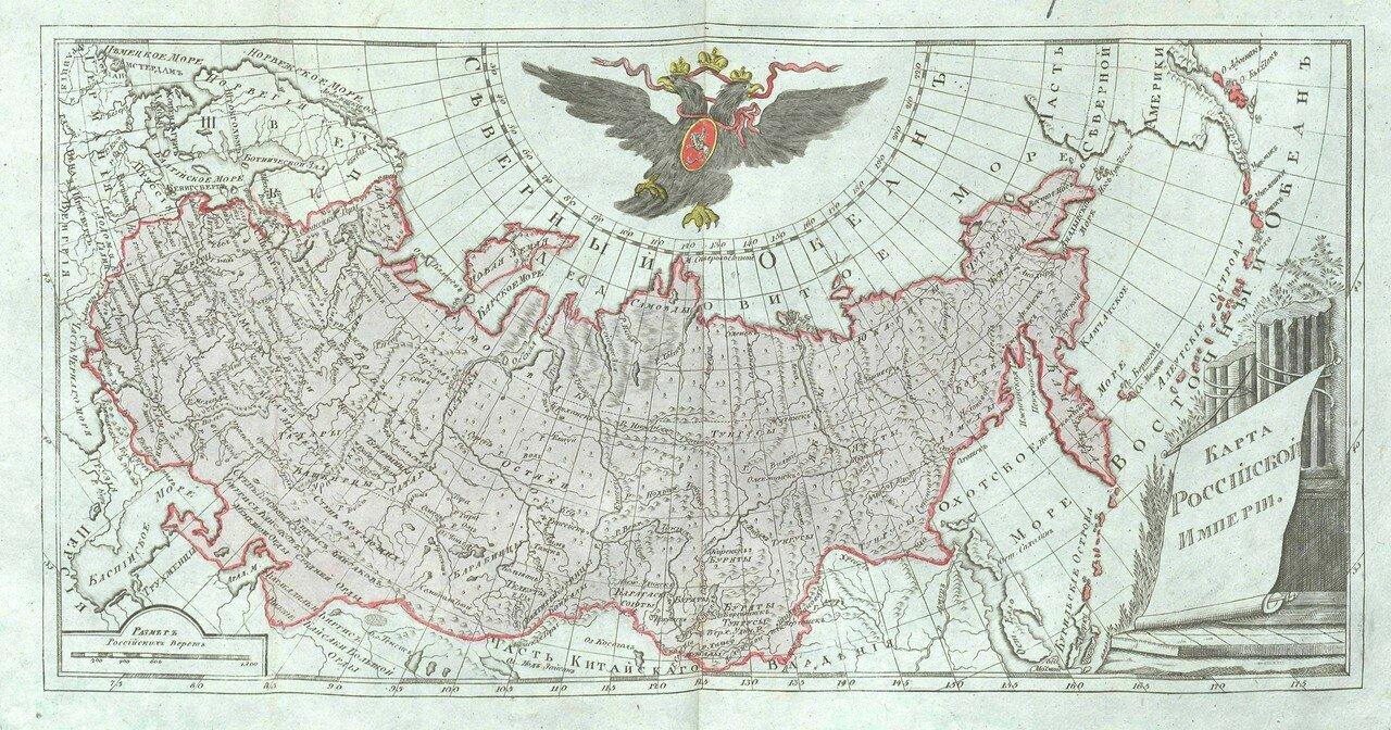 03. Карта Российской империи