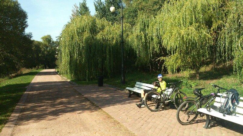 Борисовские пруда яблоневый сад