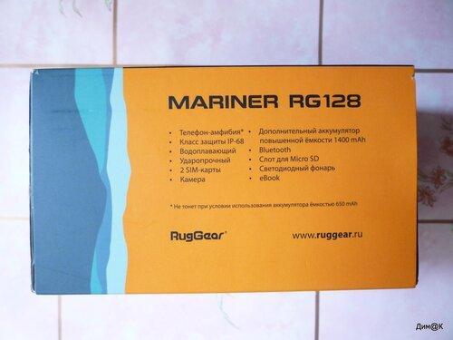 RugGear Mariner RG128 (текстовая информация)
