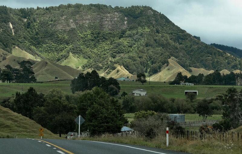 По сельским дорогам Новой Зеландии