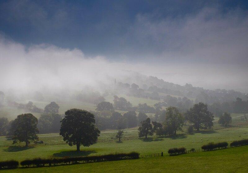Mist in Derbyshire Near Hathersage