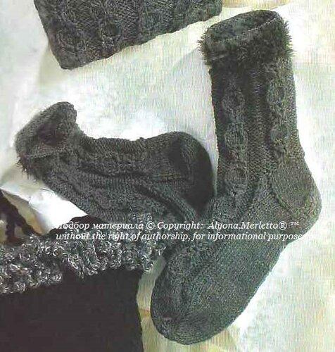Носки спицами ... от ЗКВС
