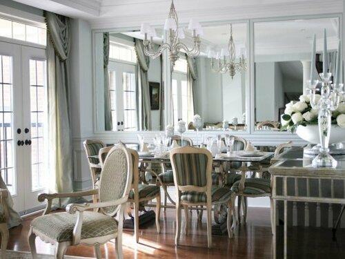 Гостиная в стиле английского классицизма