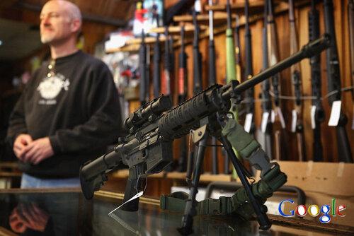 Google запрещает рекламу оружия