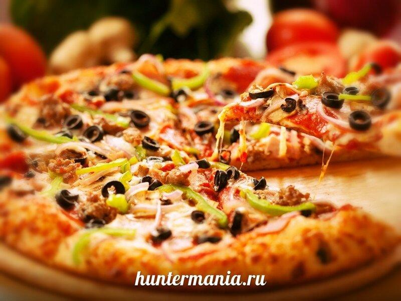 Пицца блюдо на любой вкус