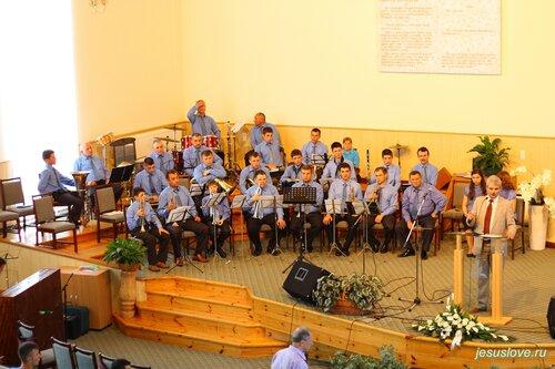 Всеукраинский фестиваль духовых оркестров. Фото. День 1