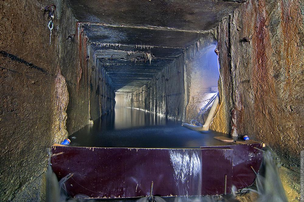 Река Жабенка Михалковский тоннель
