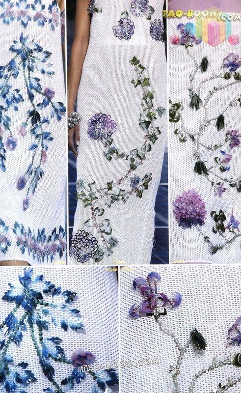 Вышивка дизайнеров на одежде