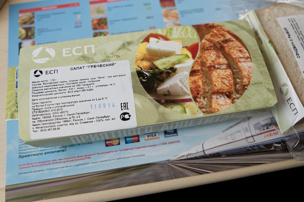 Рецепт блюд в поезд в дорогу