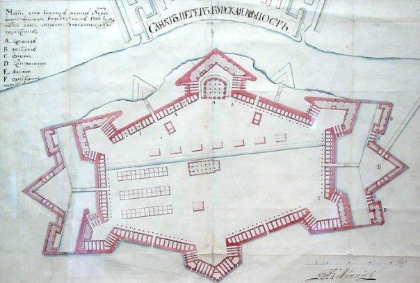 009_1730_План Петропавловской крепости 1730.jpg
