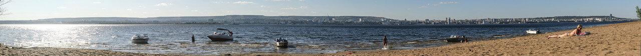 панорама Саратова