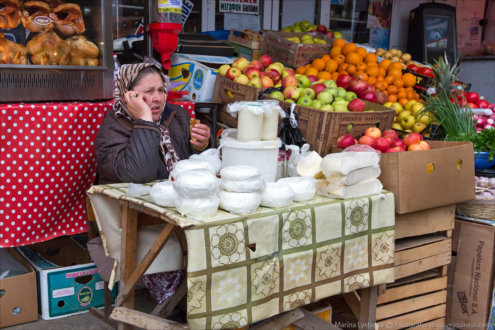 Рынок в Грозном