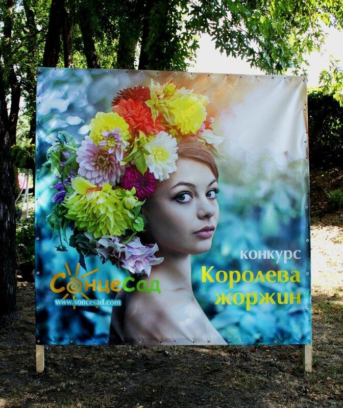 Выставка конкурса Королева георгин