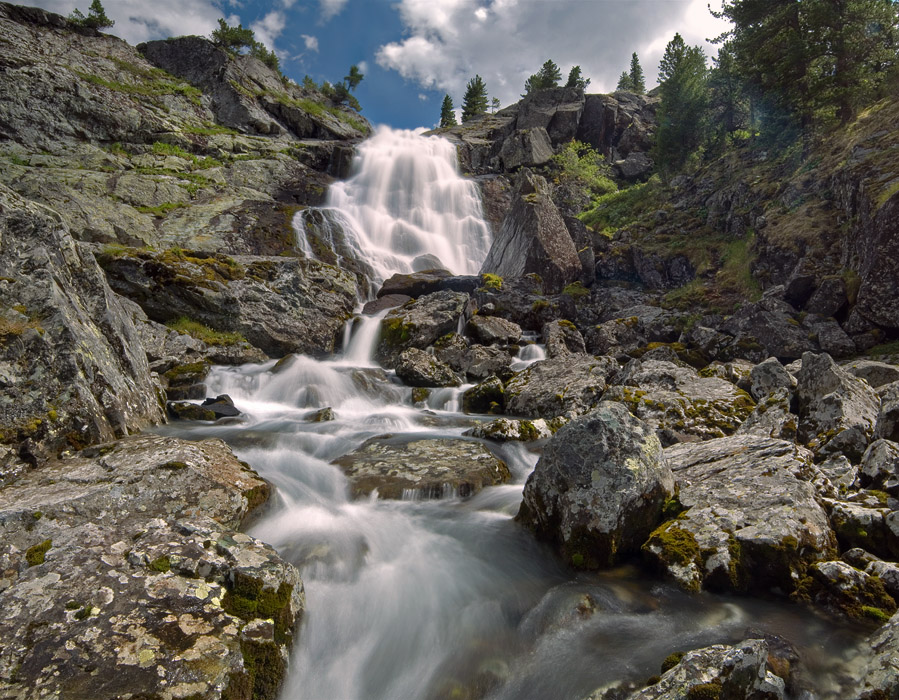 Озеро Куйгук, Куйгукский водопад