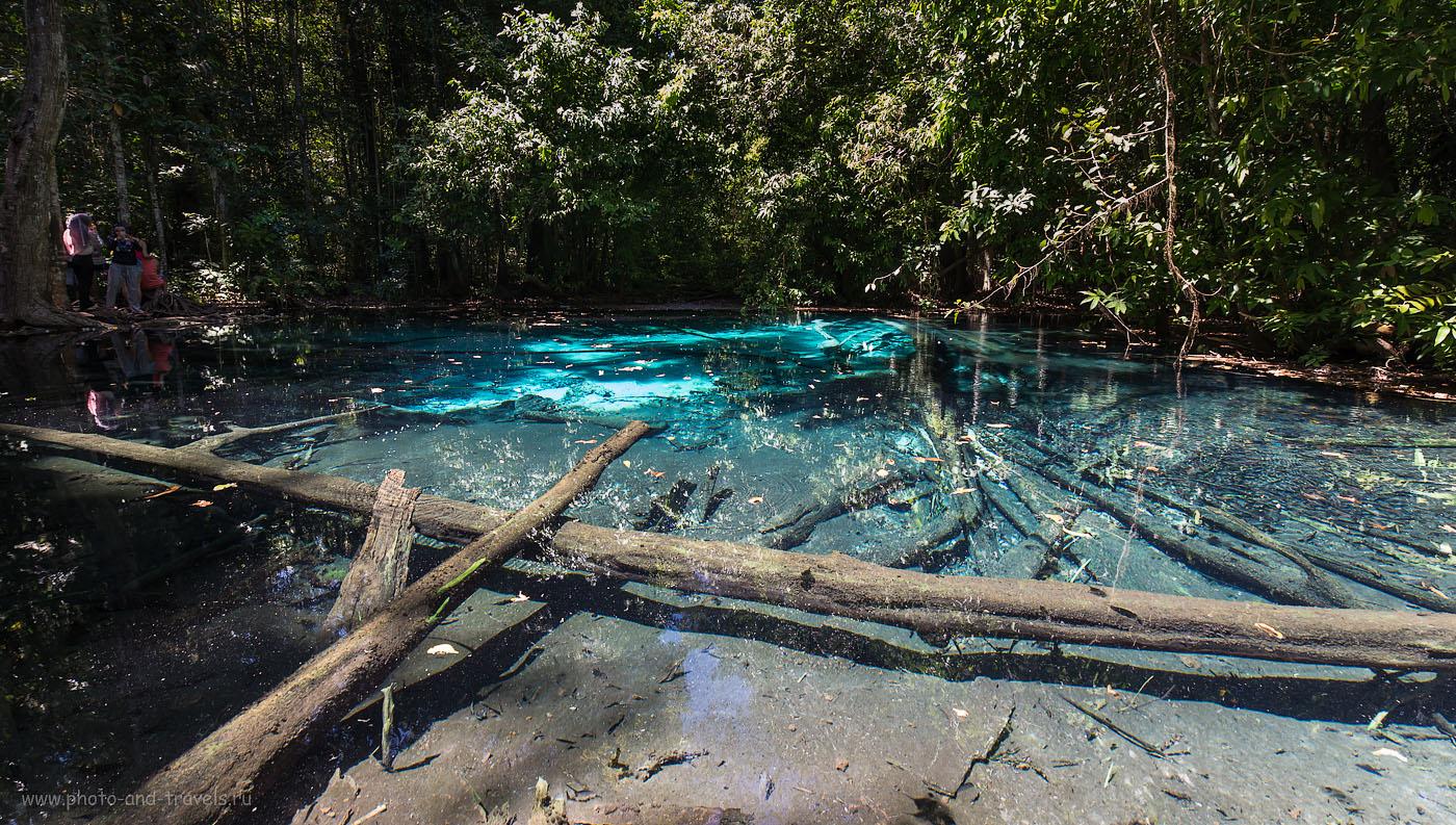Фото 19. Голубое озеро (Blue Pool) в провинции Krabi  в Таиланде. Отчеты туристов (200, 14, 8.0б 1/30)