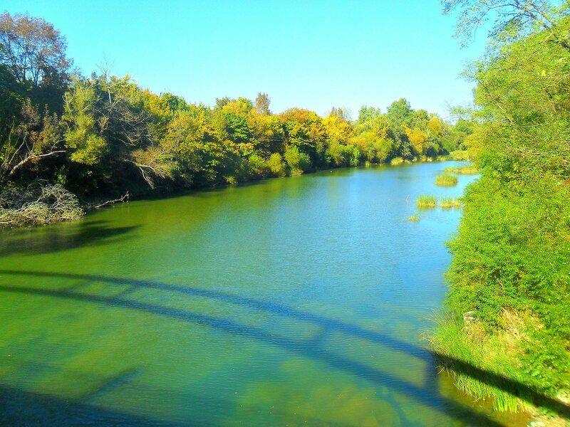 Тень моста, река Псекупс ... SAM_4039.JPG