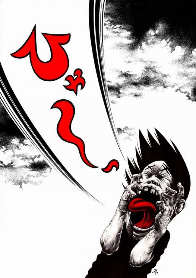 Сумасшедшие рисунки японского художника Shohei Otomo (1)