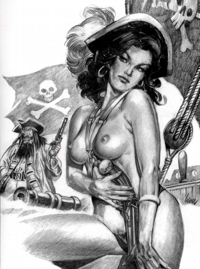 Графика: истории из жизни девушек - пираток (48)