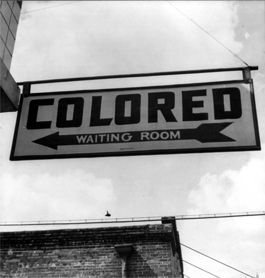 Указатель Комната ожидания для цветных