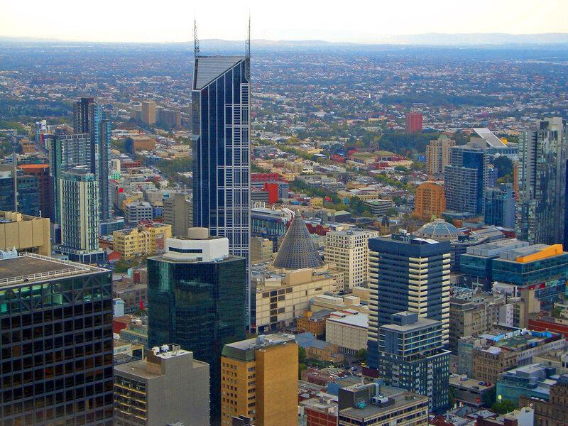 Панорама Мельбурна.
