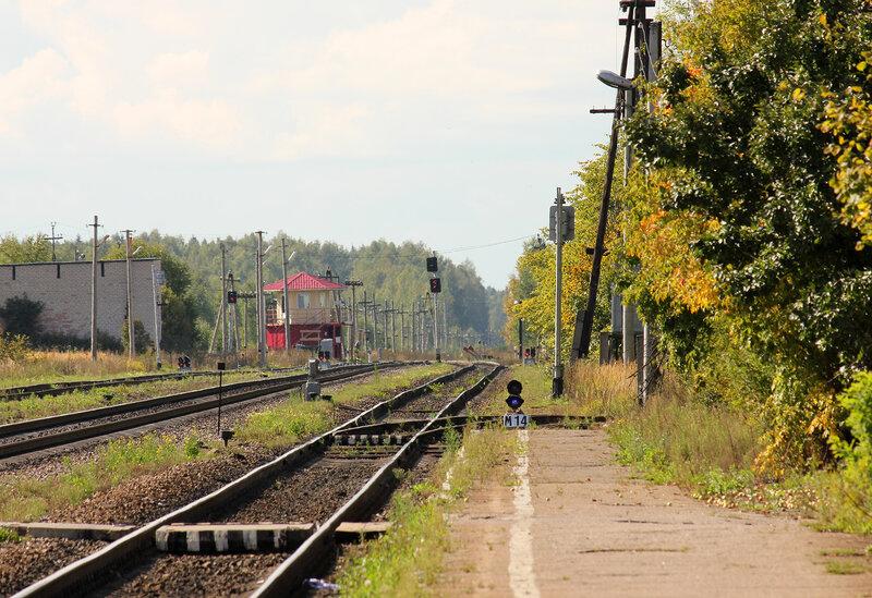 Станция Оленино на Ригу
