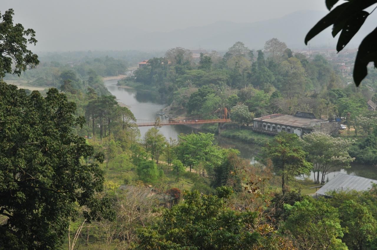 Вид со смотровой площадки Chang Cave