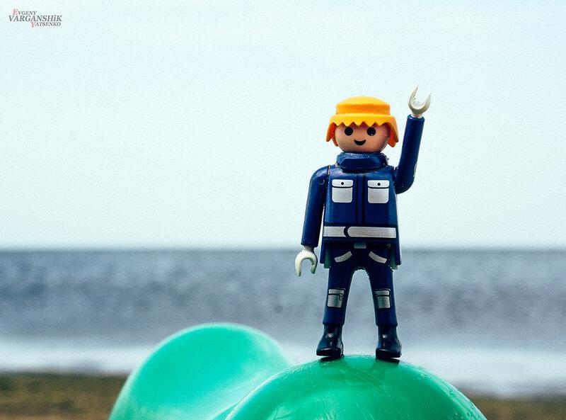На море у меня появился бро varganshik Junior