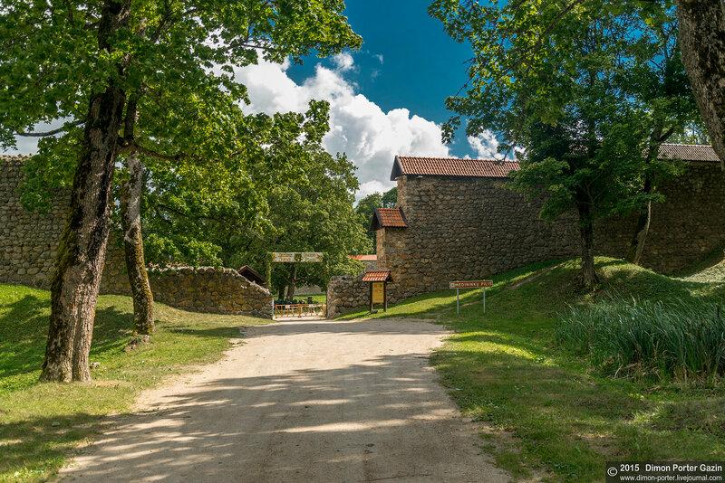 Литва. Медницкий замок