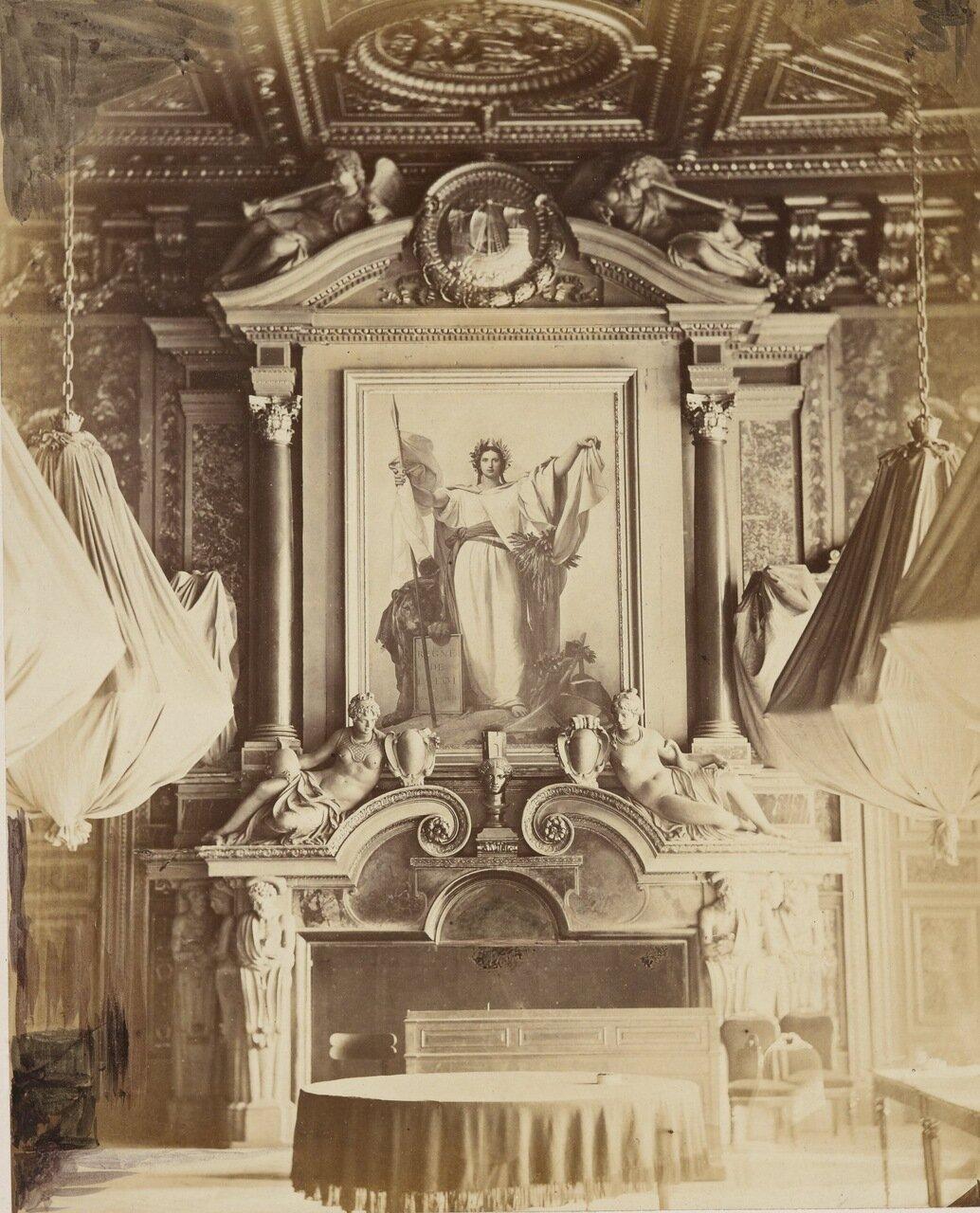 Интерьер парижской ратуши Отель-де-Виль