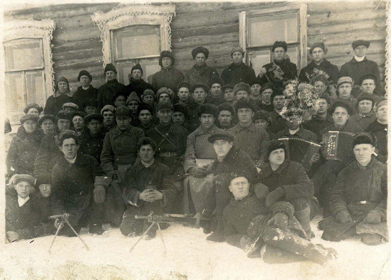 1935, с 16 января по 2 февраля. Передвижной военно-учебный пункт при с. Старый Двор