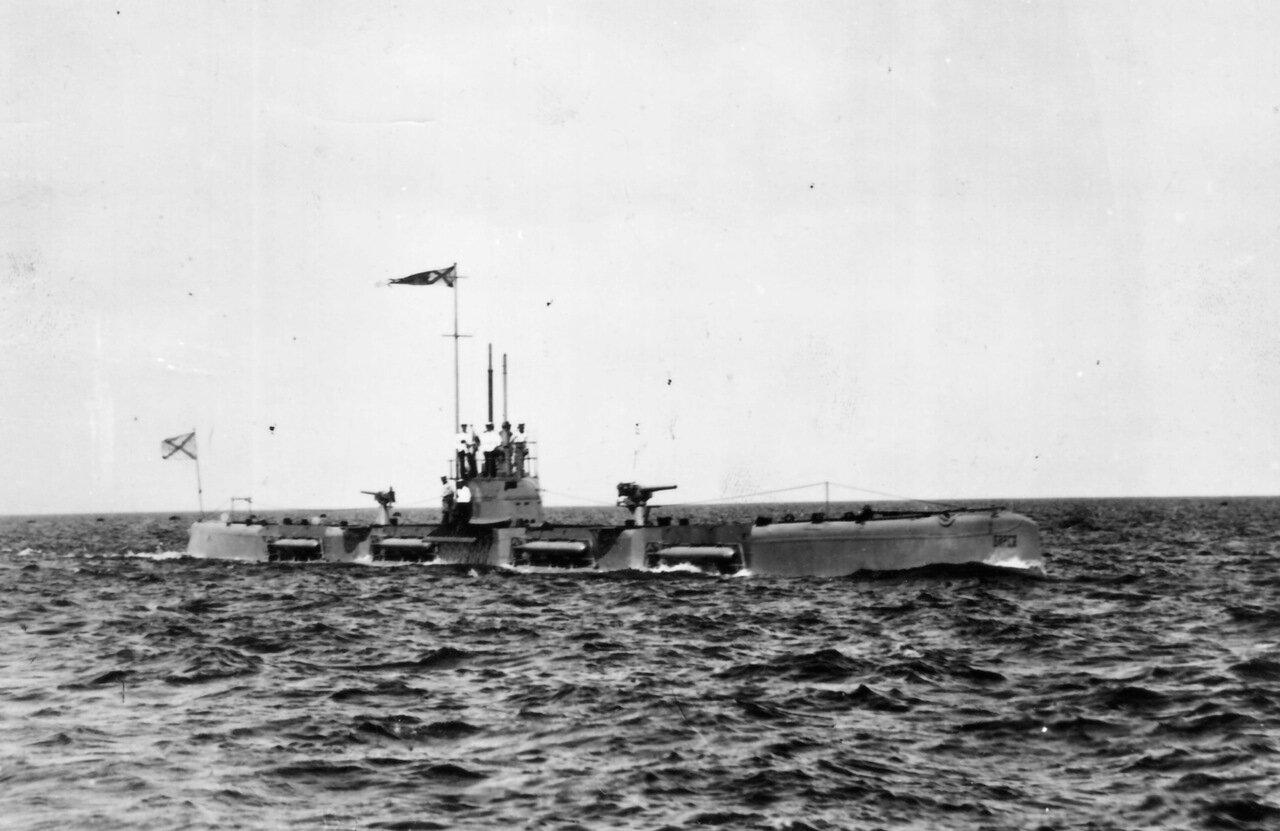 21. Подводная лодка «Барс»