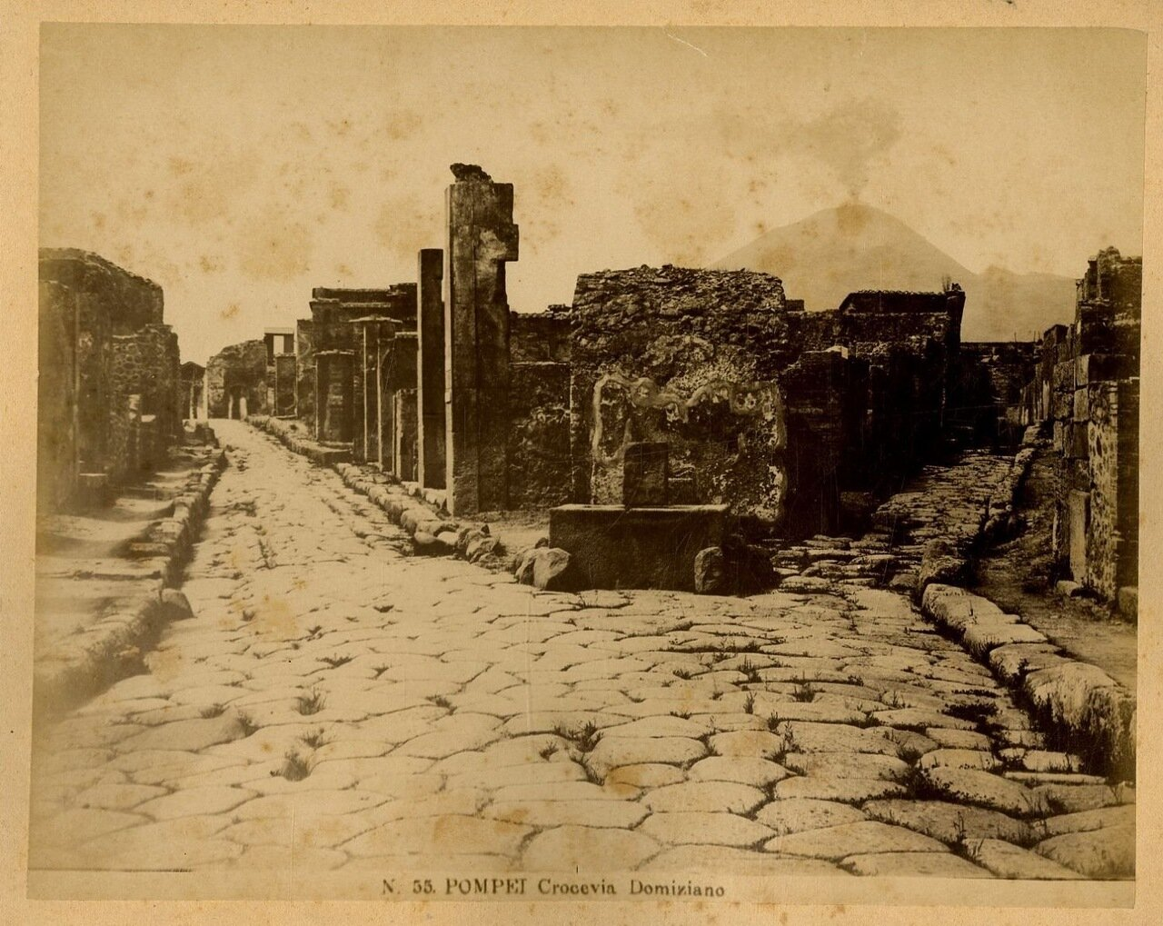 1880. Перекресток Домициана