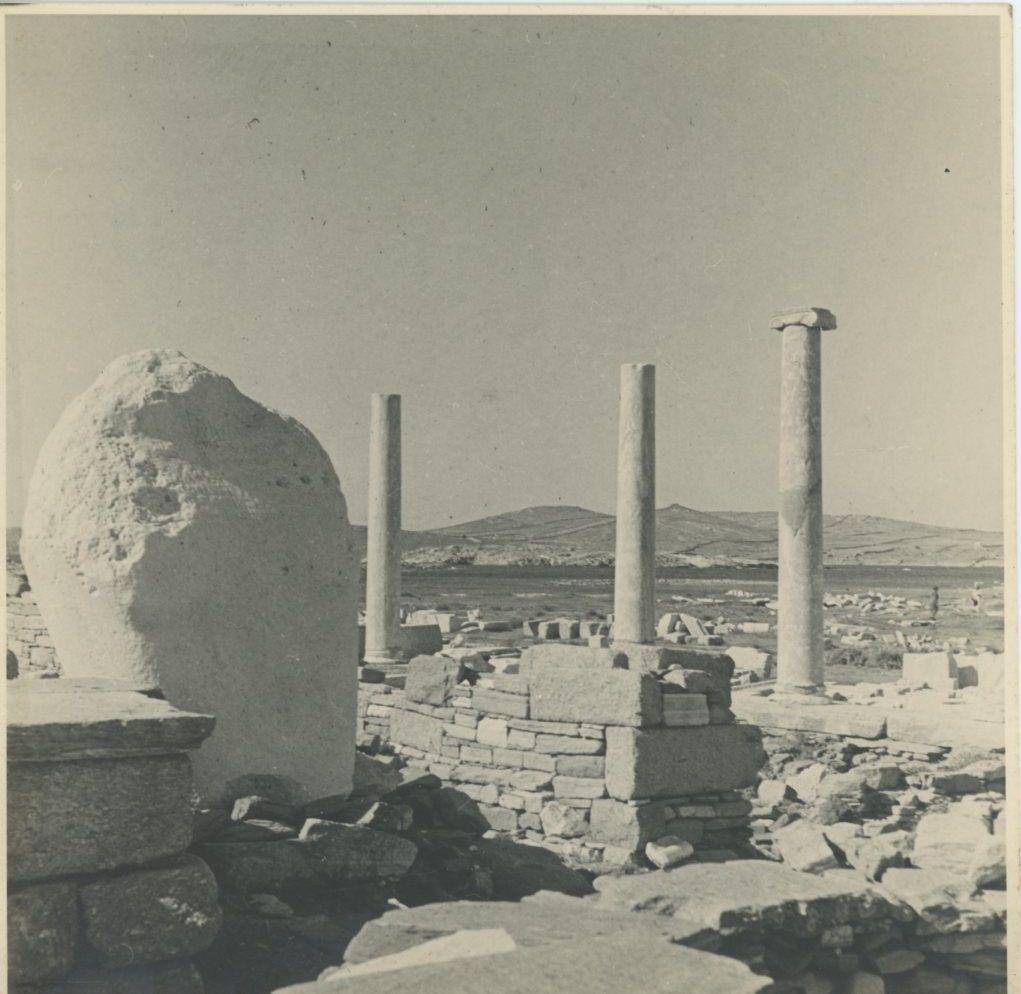 Делос. Руины