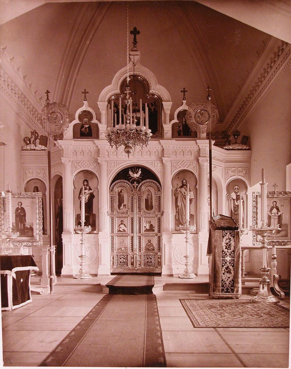 03. Вид алтарной части церкви святого Николая при Николаевской общине сестер милосердия