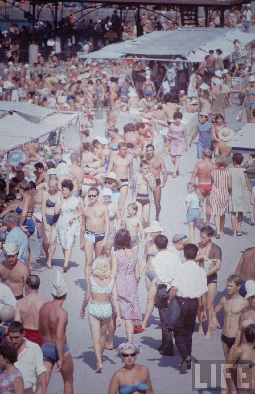 Советские фото на пляже 7 фотография