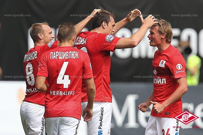 «Динамо» vs «Спартак» 1:2 Премьер-лига 2014-2015 (Фото)