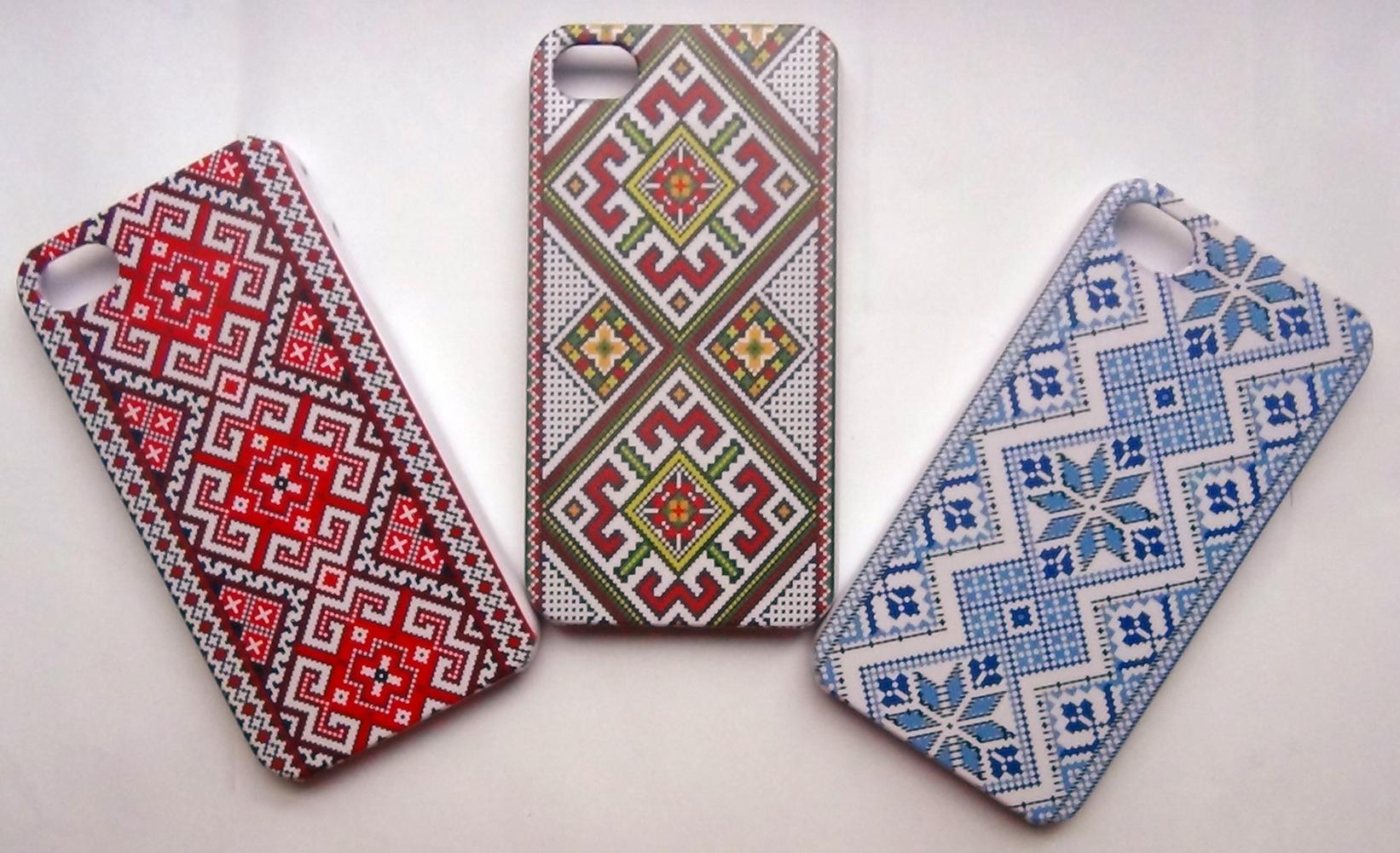 чохли для iPhone з Українським орнаментом
