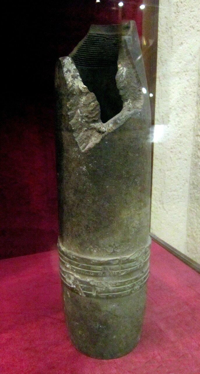 42-линейный фугасный снаряд образца 1910 года. Российская империя.