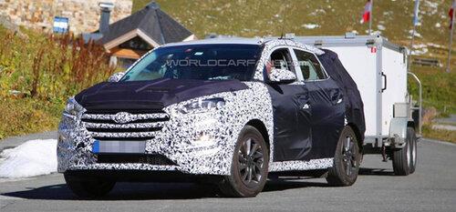 В Альпах Hyundai испытывает IX35